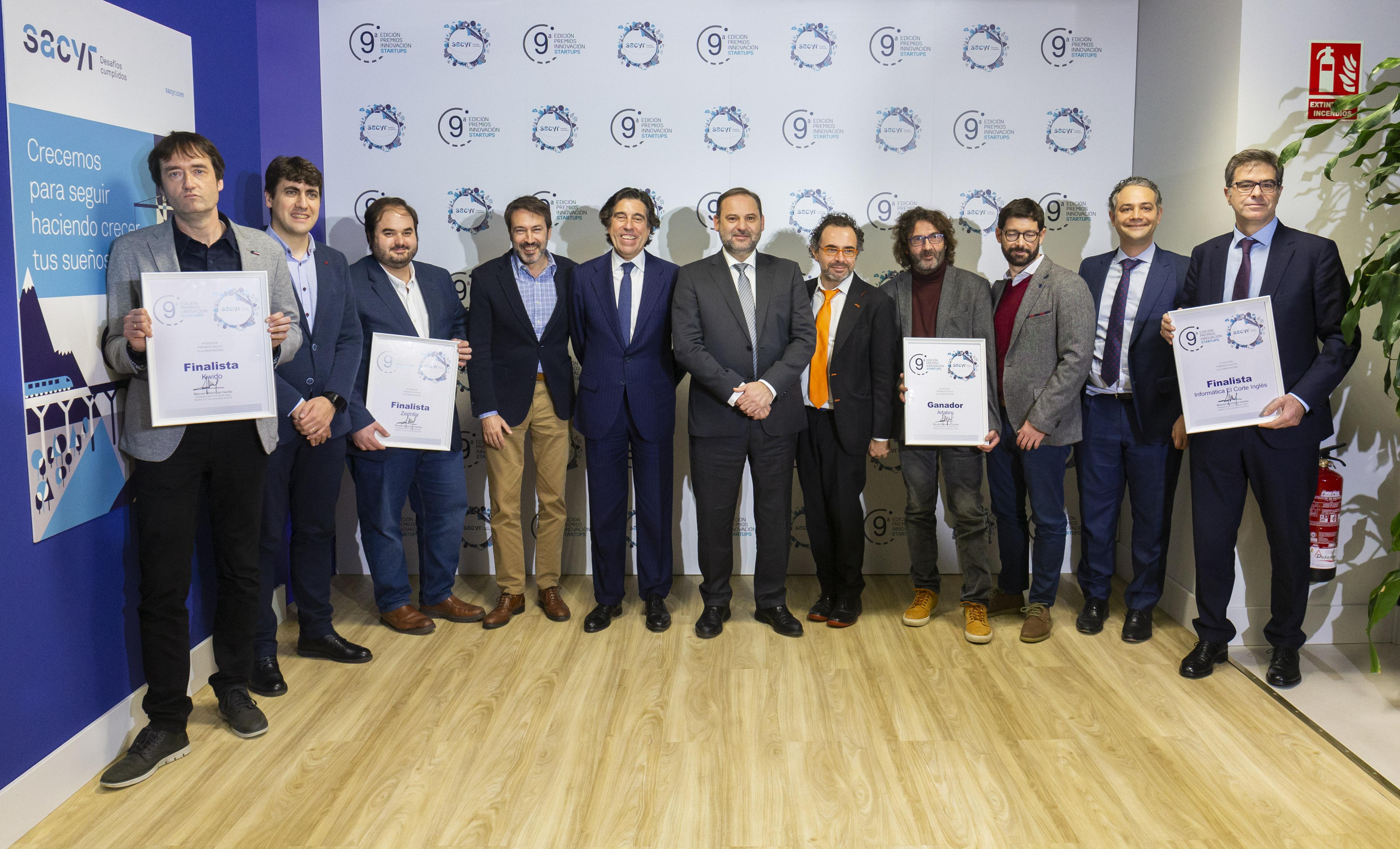 Ganador y finalistas Sacyr innovacion 2019 25